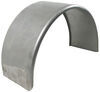 "Single Axle Trailer Fender - 16 Gauge Steel - 16"" to 16.5"" Wheels - Qty 1"