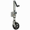 "Fulton XLT Bolt-Thru Swivel Trailer Jack - Bolt On - Sidewind - 12"" Lift - 1,500 lbs"