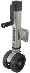 "Fulton F2 Swing-Up Trailer Jack with Dual 7"" Wheels, Sidewind -1,600 lbs - No Mounting Hardware"