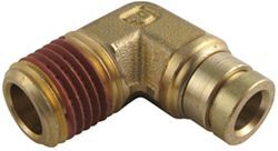 "Firestone Elbow Connector for 1/4"" Tubing, 1/4 NPT - Male"