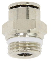 "Firestone Connector for 3/8"" Tubing, 3/8 NPT - Male"