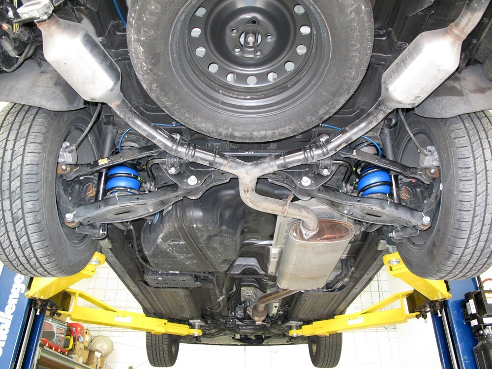 2007 Hyundai Santa Fe Vehicle Suspension Firestone