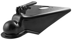 "Fulton A-Frame Coupler, 2-5/16"" Ball, Wedge Latch, Black Paint Finish - 14,000 lbs - F44314R0303"
