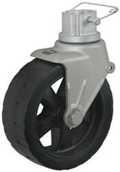 "Wide-Track Wheel Assembly for Fulton F2 Adjustable A-Frame Jack - 8"" Diameter - 1,600 lbs"