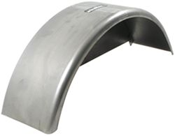 "Single Axle Trailer Fender w/ Backing - 16 Gauge Steel - 13"" to 14"" Wheels - Qty 1"