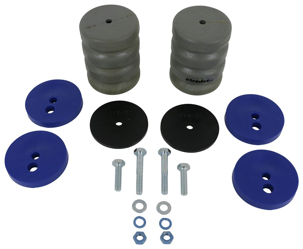 firestone work-rite helper springs Reduce load sag and sway with easy-to-install firestone work-rite fixed load  helper springs order online or call to speak with a suspension expert.