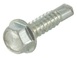 "Self-Tapping Screw - 1/4"" -14 x 3/4"" Long - Zinc"