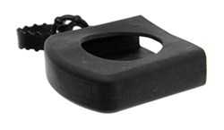 "Fastway Rubber Shin Guard for 2-1/2"" Wide Ball Mount with 2"" Hitch Ball"