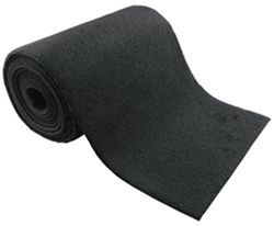 "Fulton Marine Grade Carpeting, 12"" Wide x 144"" Long - Black"