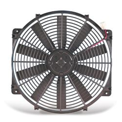 "Flex-a-lite 12"" Trimline Reversible Electric Radiator Fan - 12V - 1,105 CFM"