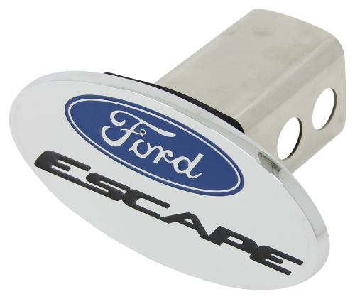 """Ford Escape Trailer Hitch Receiver Cover - 2"""" Hitches - Blue, Black, and"""
