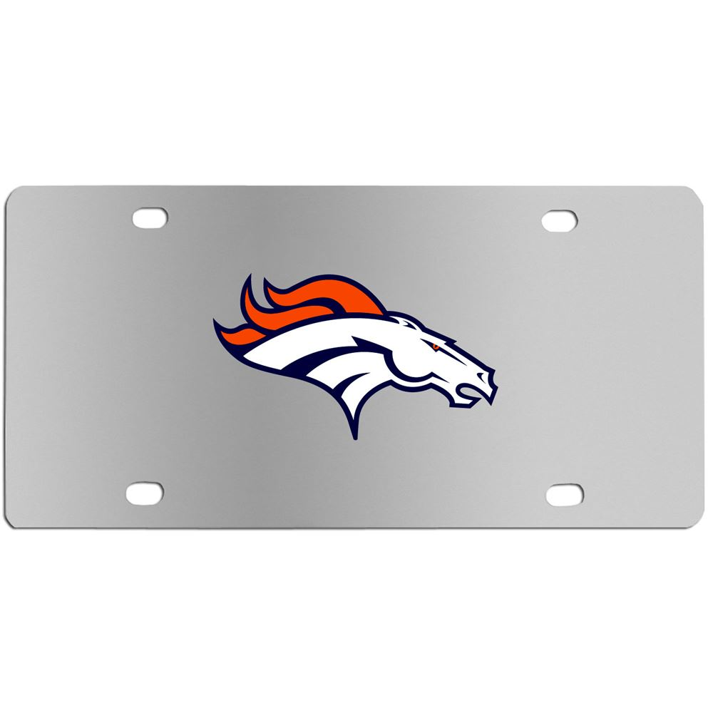 Denver Broncos NFL License Plate