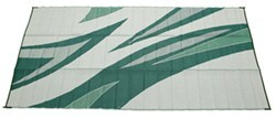 Faulkner RV Mat - Summer Waves - Green and Blue - 8' x 16'