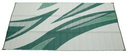 Faulkner RV Mat - Summer Waves - Green and Blue - 8' x 20'