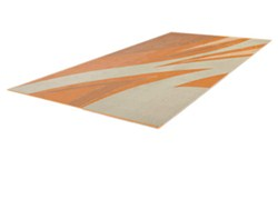 Faulkner RV Mat - Summer Waves - Tan and Gold - 8' x 20'
