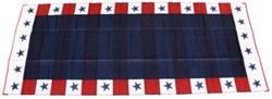 Faulkner RV Mat - Independence Day - Red, White, and Blue - 8' x 20'