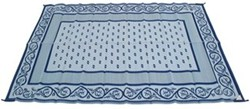 Faulkner RV Mat - Vineyard - Blue - 8' x 20'