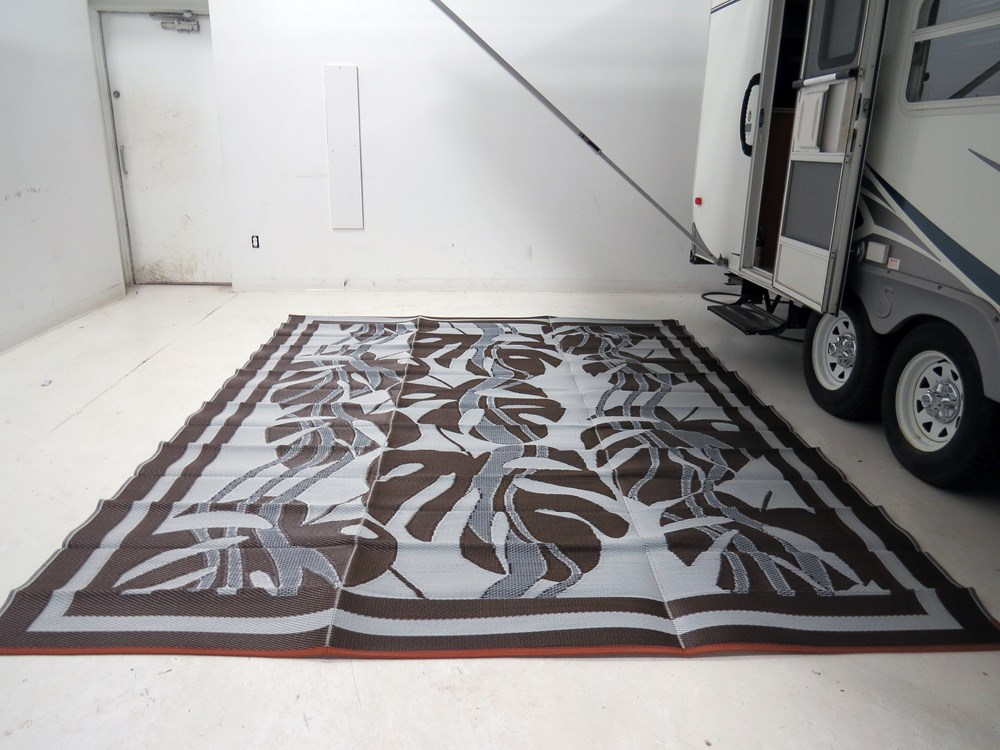 Faulkner Rv Mat Sahara Brown 9 X 12 Faulkner Patio