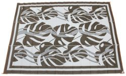 Faulkner RV Mat - Sahara - Brown - 9' x 12'