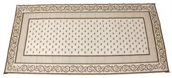 Faulkner RV Mat - Vineyard - Beige - 8' x 16'