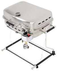 Faulkner BBQ Grill - RV Mount or Freestanding - Propane - Stainless Steel