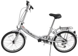"Faulkner Folding Bike - 6 Speed - Aluminum Frame - 20"" Wheels"