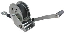 "Fulton Single Speed Winch - 10"" Long Handle, 20' Strap - 1,800 lbs"