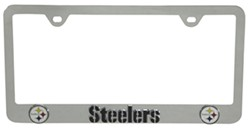 pittsburgh steelers nfl 3 d license plate frame chrome plated steel