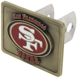 San Francisco 49ers NFL Trailer Hitch Receiver Cover