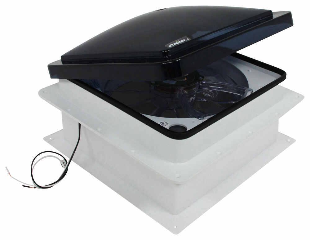 fan tastic vent roof vent w 12v fan reversible manual. Black Bedroom Furniture Sets. Home Design Ideas