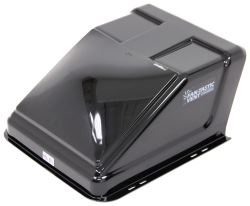 "Fan-Tastic Vent Ultra Breeze Trailer Roof Vent Cover - 23"" x 19.5"" x 10.25"" - Black"