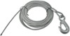 "Fulton Galvanized Winch Cable with Hook - 50' x 7/32"" - 5,600 lbs"