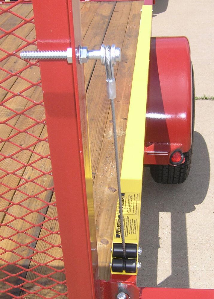 Gorilla-Lift Utility Trailer Tailgate Lift Assist w/ Cable ...