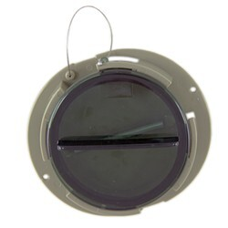 Document Holder - Trailer Round Certificate Holder w/ Cap