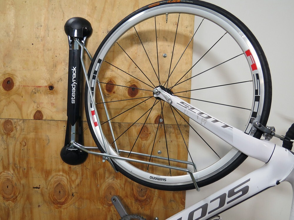 Vertical Bike Storage >> Steadyrack Vertical Bike Storage Rack - Swiveling - 1 Bike Steadyrack Bike Storage GU11000