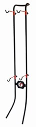 Gear Up Lean Machine Gravity Bike Storage Rack - 2 Bikes - 100 lbs