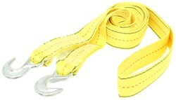 Tow Strap with Hooks 10K - 15'
