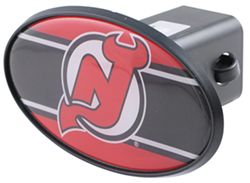 "New Jersey Devils 2"" NHL Trailer Hitch Receiver Cover - ABS Plastic"