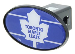 "Toronto Maple Leafs 2"" NHL Trailer Hitch Receiver Cover - ABS Plastic"