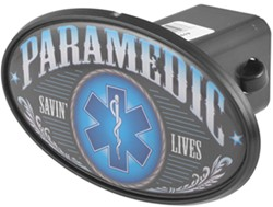 "Paramedic 2"" Trailer Hitch Receiver Cover - ABS Plastic"