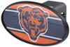 "Chicago Bears 2"" NFL Trailer Hitch Receiver Cover - ABS Plastic"