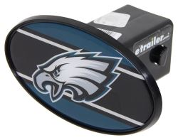 "Philadelphia Eagles 2"" NFL Trailer Hitch Receiver Cover - ABS Plastic"