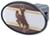 great american hitch covers fits 2 inch standard wyoming cowboys ncaa trailer receiver cover - abs plastic
