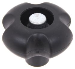 Replacement Black Claw Knob for etrailer and Ram Jacks and Gooseneck <strong>Couplers</strong> - HDKB-BLKF