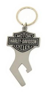 harley davidson key chain with bottle opener baron and. Black Bedroom Furniture Sets. Home Design Ideas