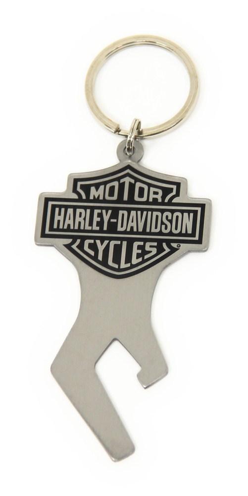 harley davidson key chain with bottle opener baron and baron novelty hdkco14. Black Bedroom Furniture Sets. Home Design Ideas