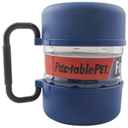 PortablePET FoodTote Travel Food Container - 8-Cup Capacity
