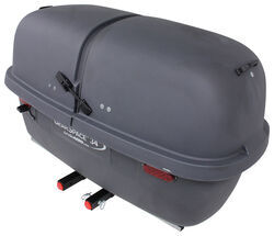 "GearSpace 34 Enclosed Cargo Carrier for 2"" Hitch - Slide Out - 34 cu ft - 300 lbs - Dark Gray"