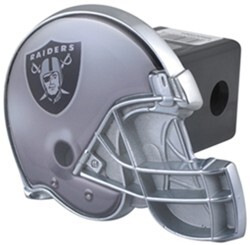 "Oakland Raiders Helmet 2"" NFL Trailer Hitch Receiver Cover"