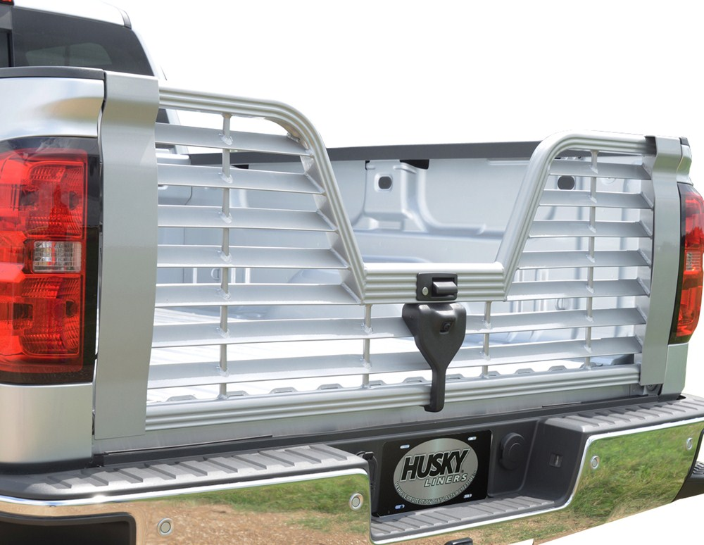 ford f 250 and f 350 super duty husky liners premium 5th wheel louvered tailgate w locking. Black Bedroom Furniture Sets. Home Design Ideas